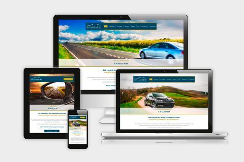 Responsive Webseite Car Leasing SH